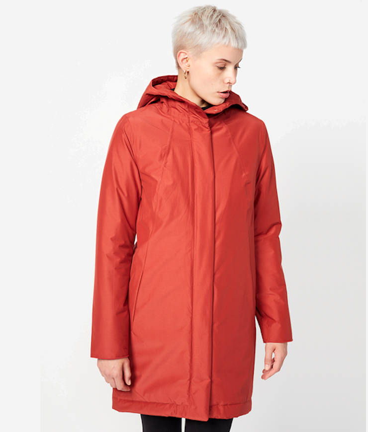 Langerchen Damen Coat Ariza rooibos
