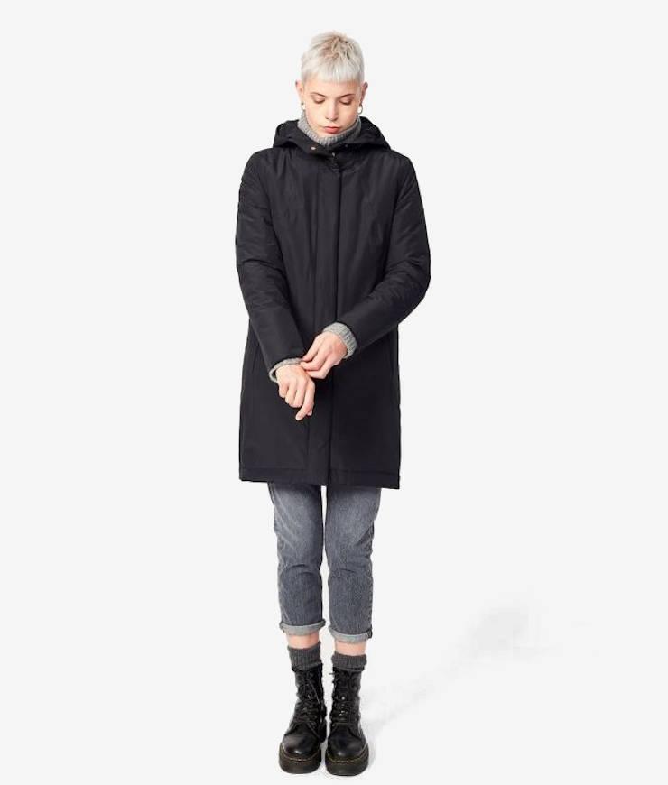Langerchen Damen Coat Ariza black