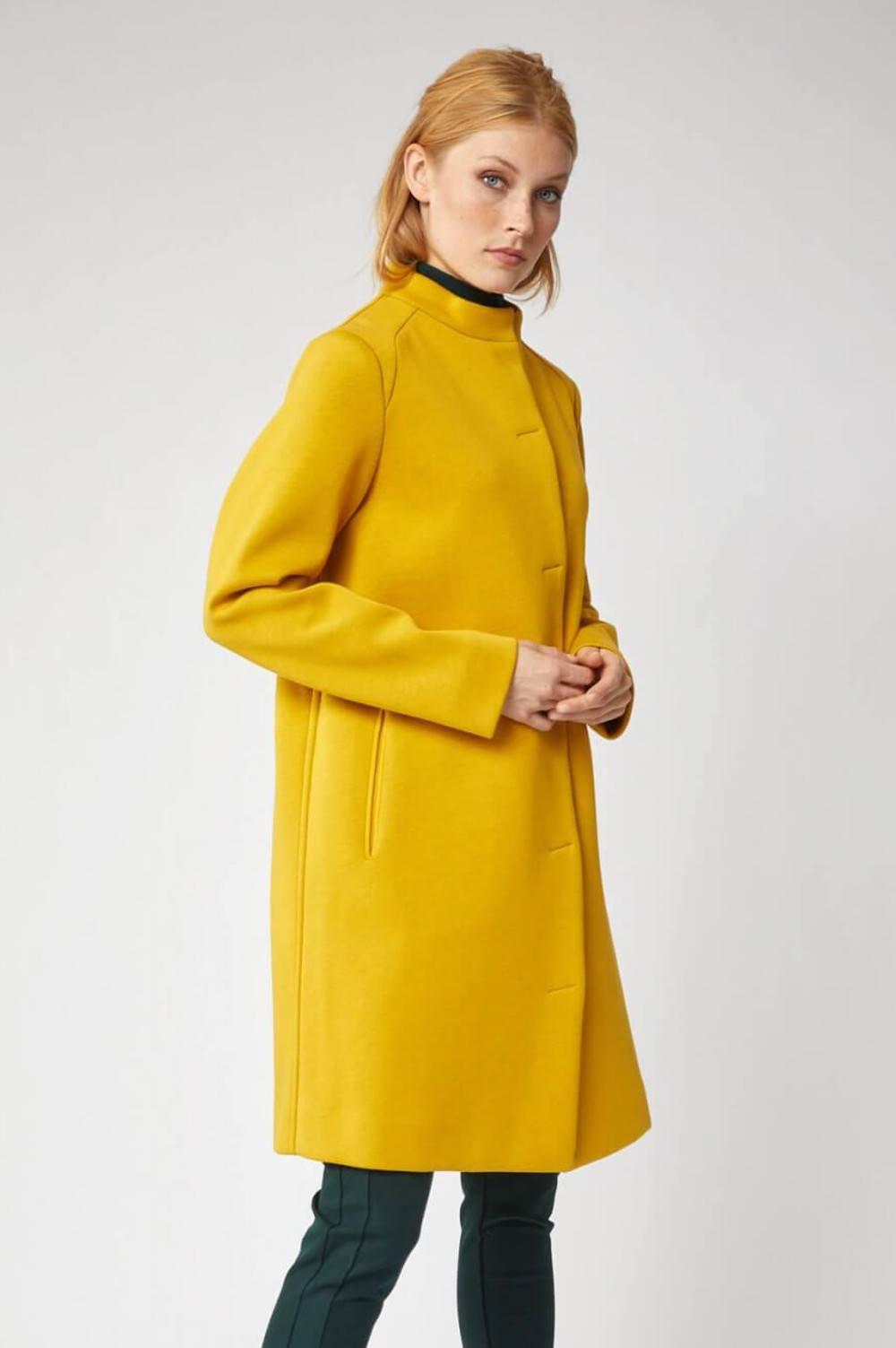 Lanius Mantel Curcuma gelb