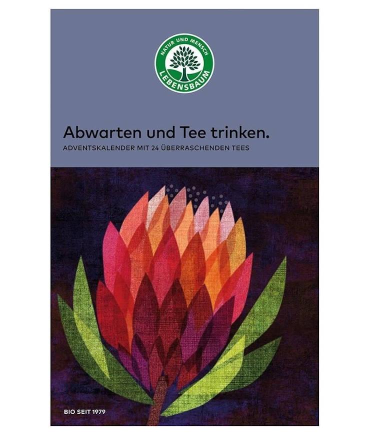 Lebensbaum Tee Adventskalender groß