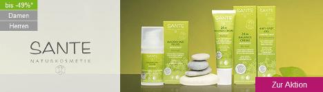 Sante Pflege und Kosmetik bis 50% reduziert
