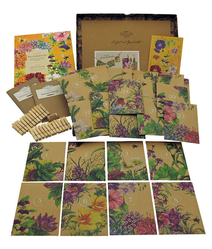 Magic Garden Seeds-Store Bio-Saatgut-Adventskalender