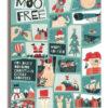 MooFree Adventskalender mit weisser veganer Schokolade