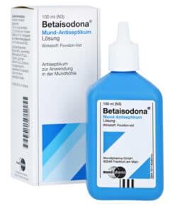 MUNDIPHARMA GmbH Betaisodona Mund-Antiseptikum 100 ml