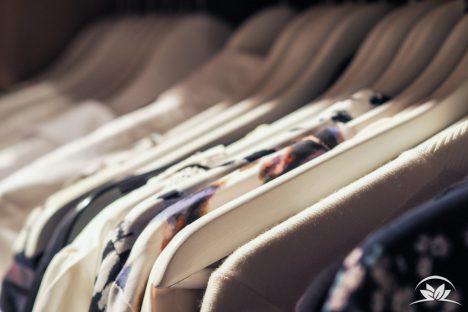 Nachhaltig bestückter Kleiderschrank