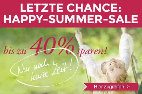 Bis 40% Rabatt beim najoba Summer Sale