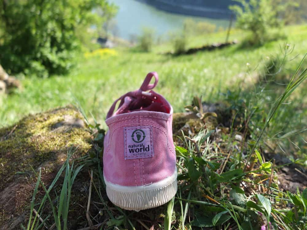 Natural World Eco Shoes Label