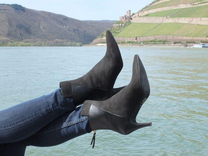 "Noah Italian Shoes Stiefelette ""Dora"": Die Sohle"