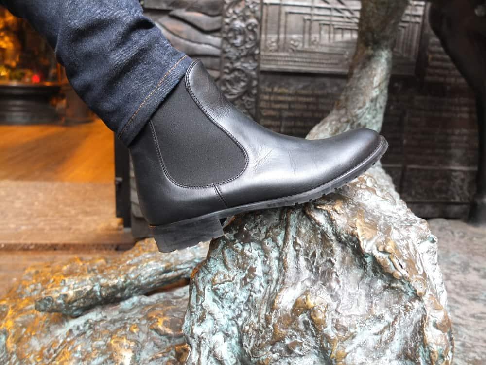 Noah Italian Vegan Shoes Valeria Chelsey Boots