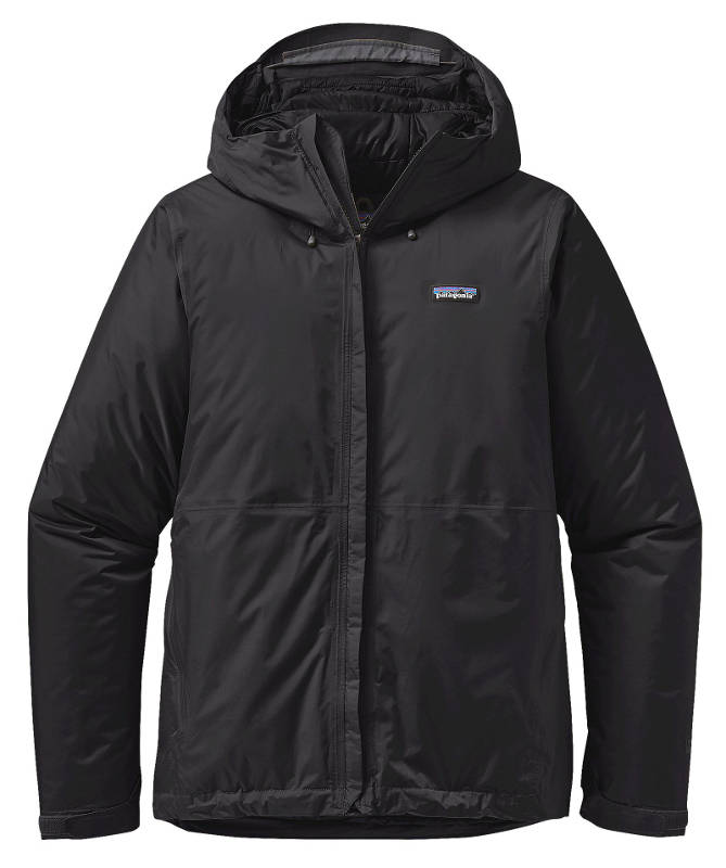 Patagonia Men's Insulated Torrentshell Jacket in black