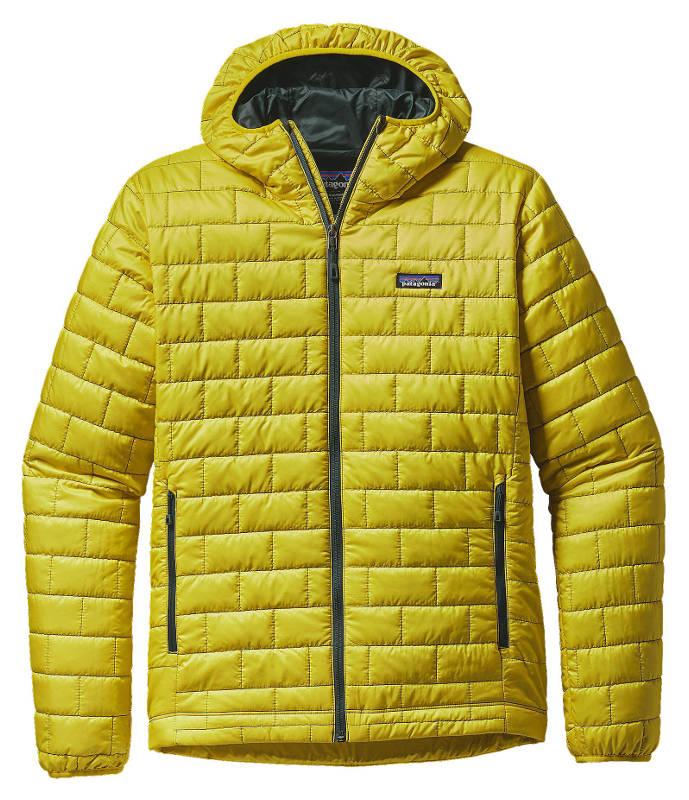 Patagonia Men's Nano Puff® Hoody in yosemite yellow