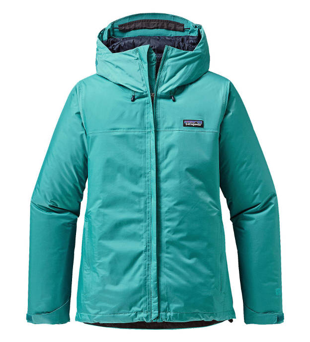 Patagonia Women's Insulated Torrentshell Jacket in epic blue