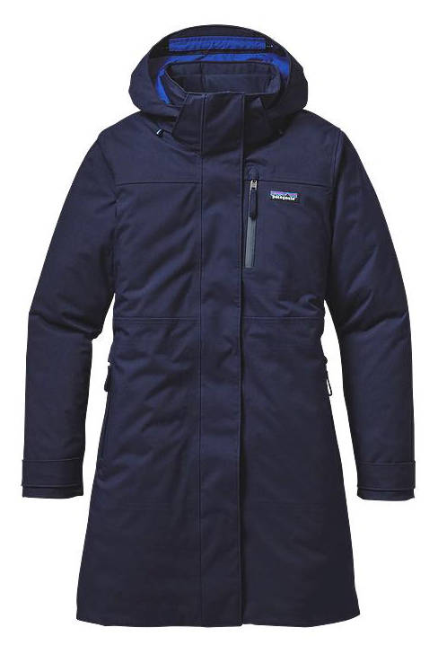 Patagonia Women's Stormdrift Parka navy blue