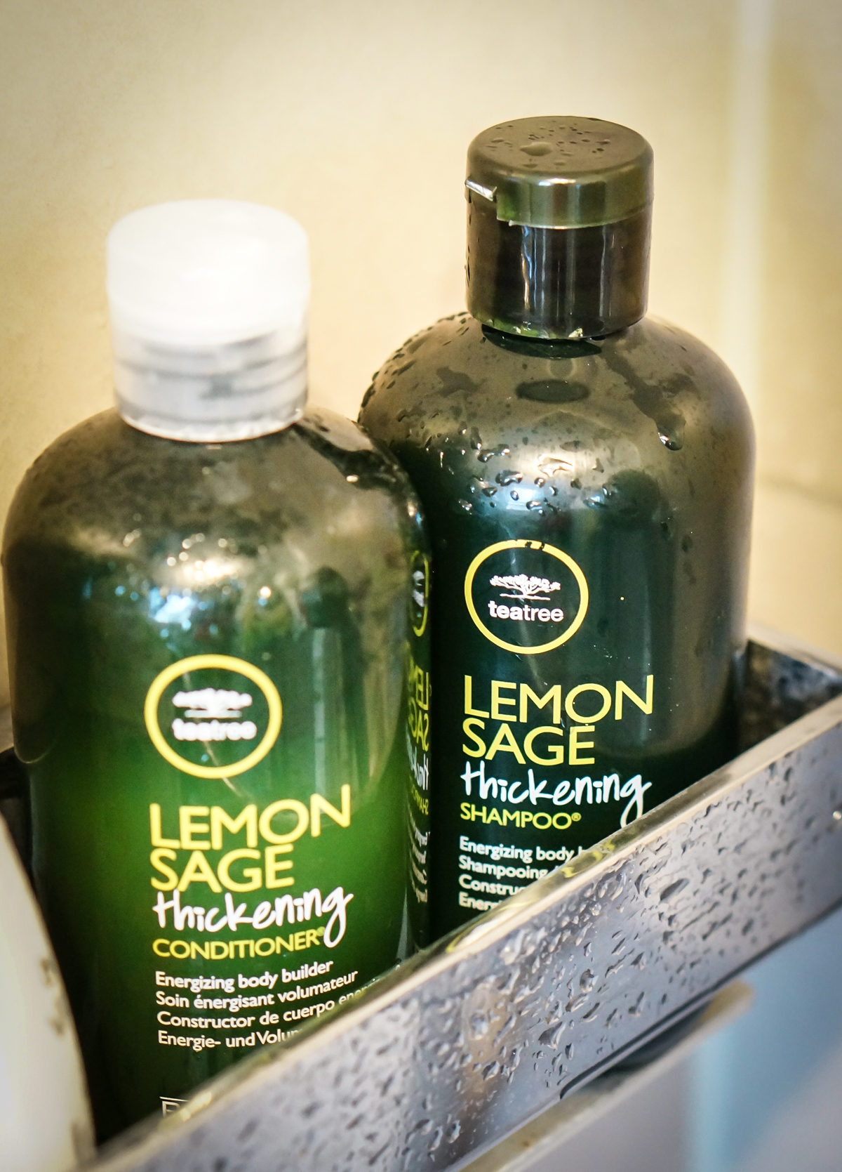 Lemon Sage Thickening Shampoo & Conditioner von Paul Mitchell aus seiner Tea Tree Serie