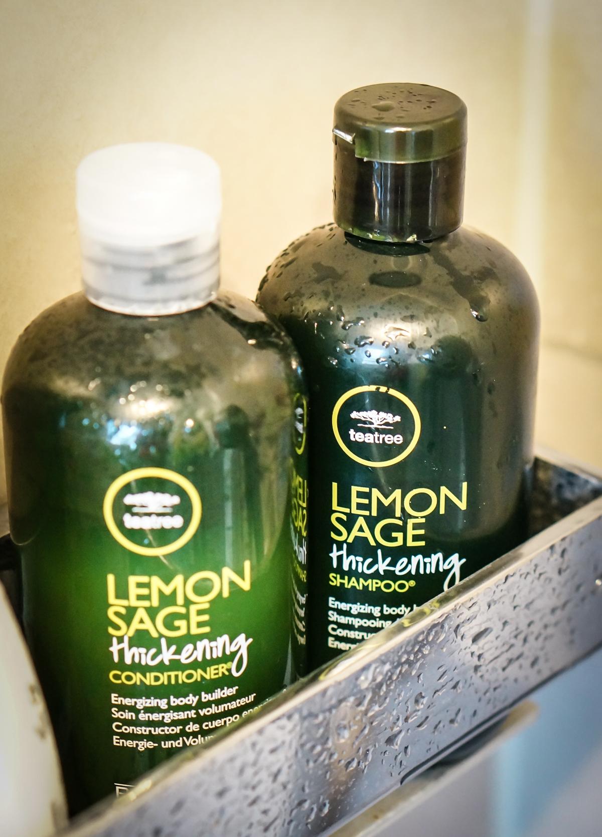 Lemon Sage Thickening Shampoo & Conditioner von Paul Mitchell aus seiner Tea Tree Serie
