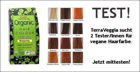 Tester gesucht: Radico Colour me organic natürliche Haarfarbe