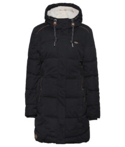 Ragwear Mershel Steppmantel Damen-black
