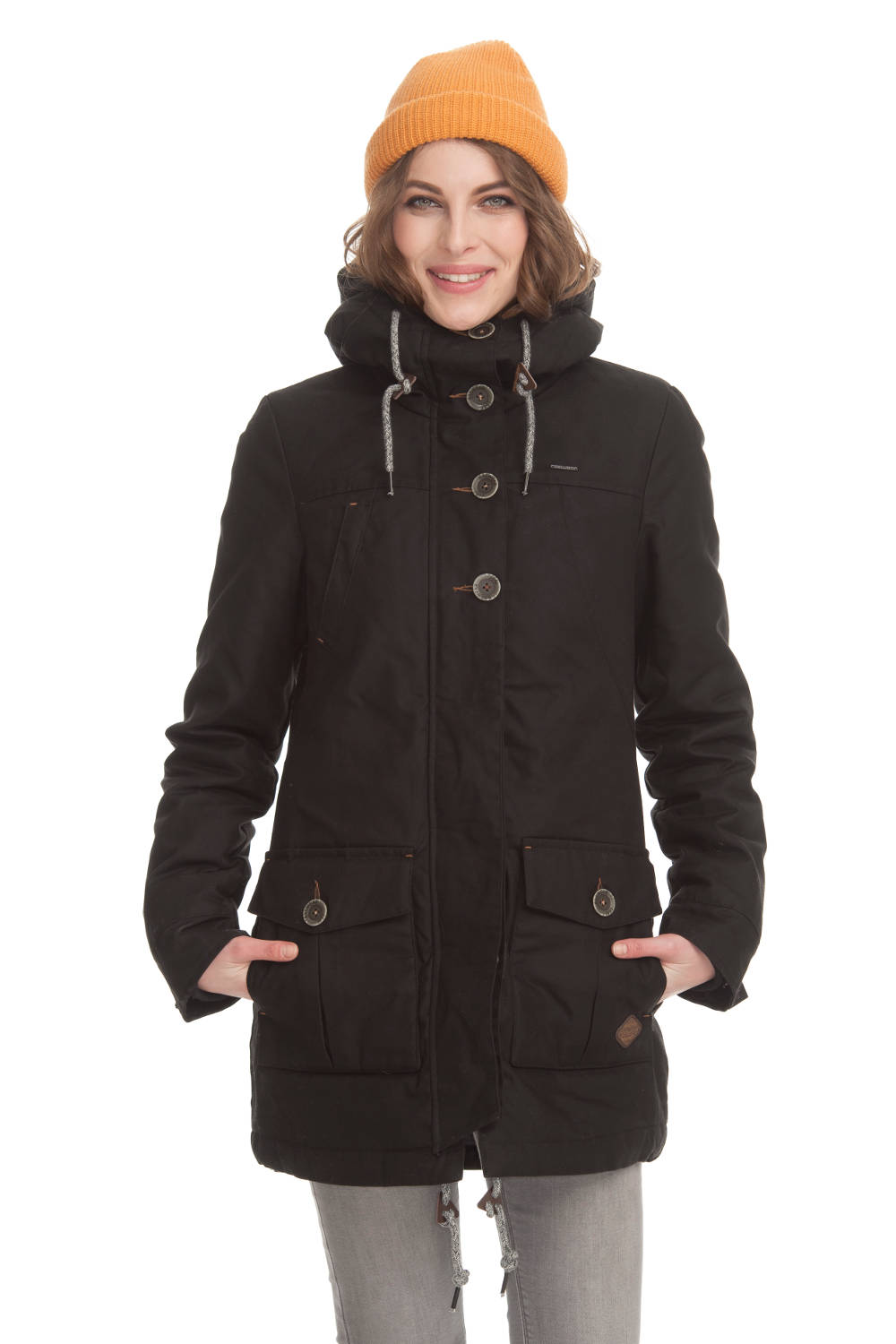 Ragwear Parka vegan Jane black