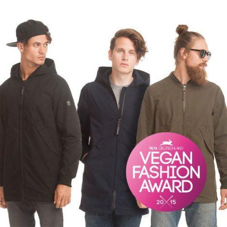 ragwear mit dem PETA Vegan Fashion Award 2015 ausgezeichnet