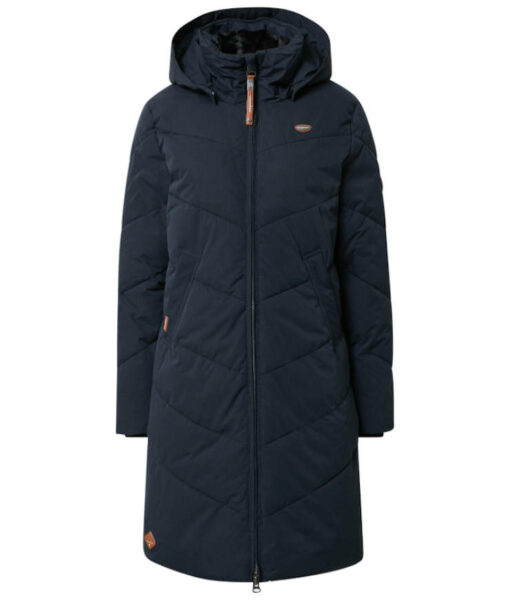 "Ragwear veganer Wintermantel ""Rebelka"" navy"