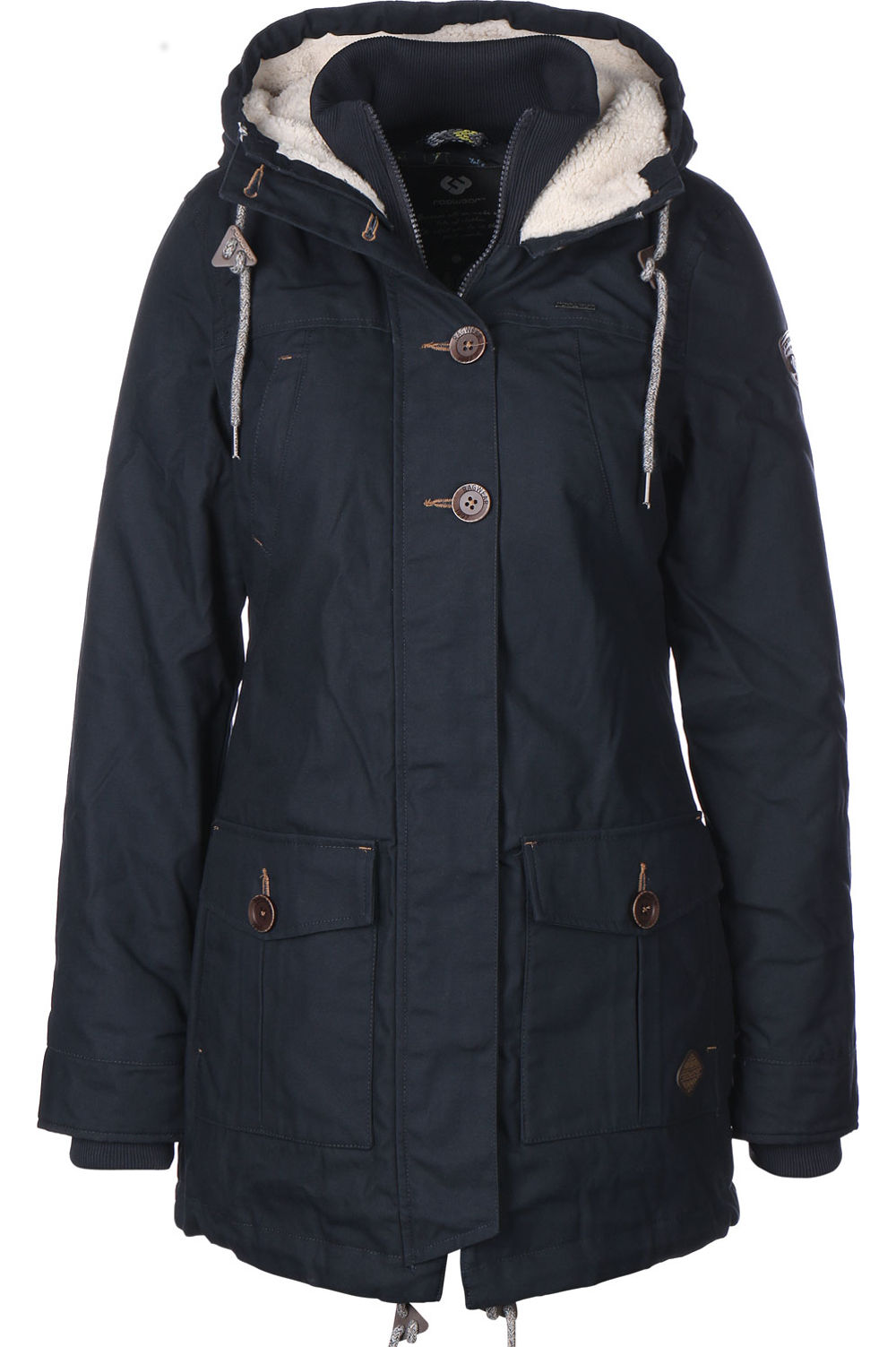 Ragwear Winter Parka Jane in blau