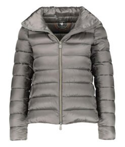 Save the duck Steppjacke Iris kurz grau