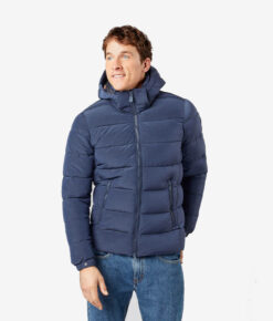 Save the duck Herren Winterjacke Rocky blau