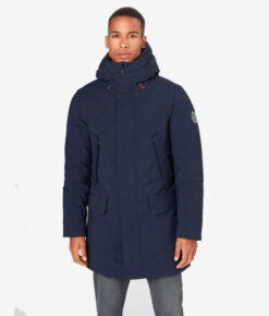 "Save the duck Herren Winterparka ""Smegy"" blau"