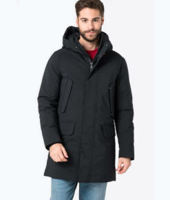 "Save the duck Herren Winterparka ""Smegy"" schwarz"
