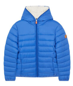 "Save the duck Kinder Winter-Steppjacke ""GIGA Y"" blau"