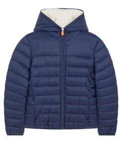 Save the duck Kinder Winter-Steppjacke GIGA Y navy
