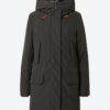 Save the duck Winterparka Cappotto Cappuccio dunkelgrau
