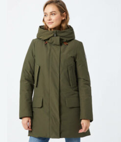 "Save the duck Winterparka ""Cappotto Cappuccio"" oliv"