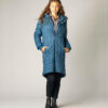ThokkThokk Wintermantel Kapok Coat Ink Blue/Stripes