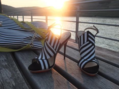 Im Test: gx by Gwen Stefani vegan ABBOT High Heel Sandaletten