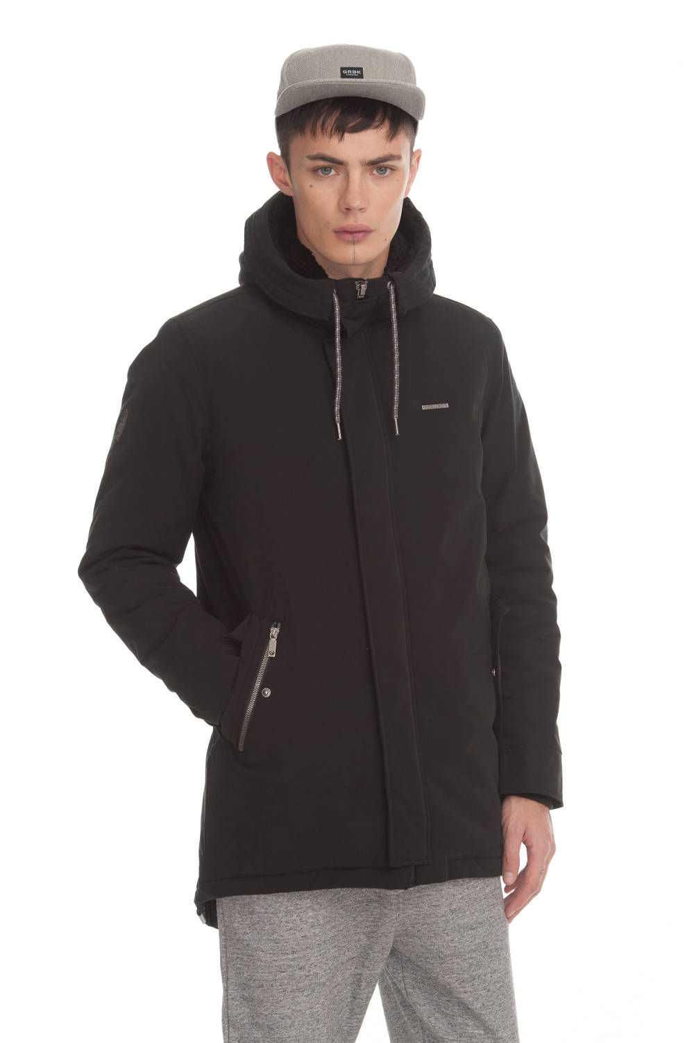 Ragwear Mr. Smith veganer Parka black