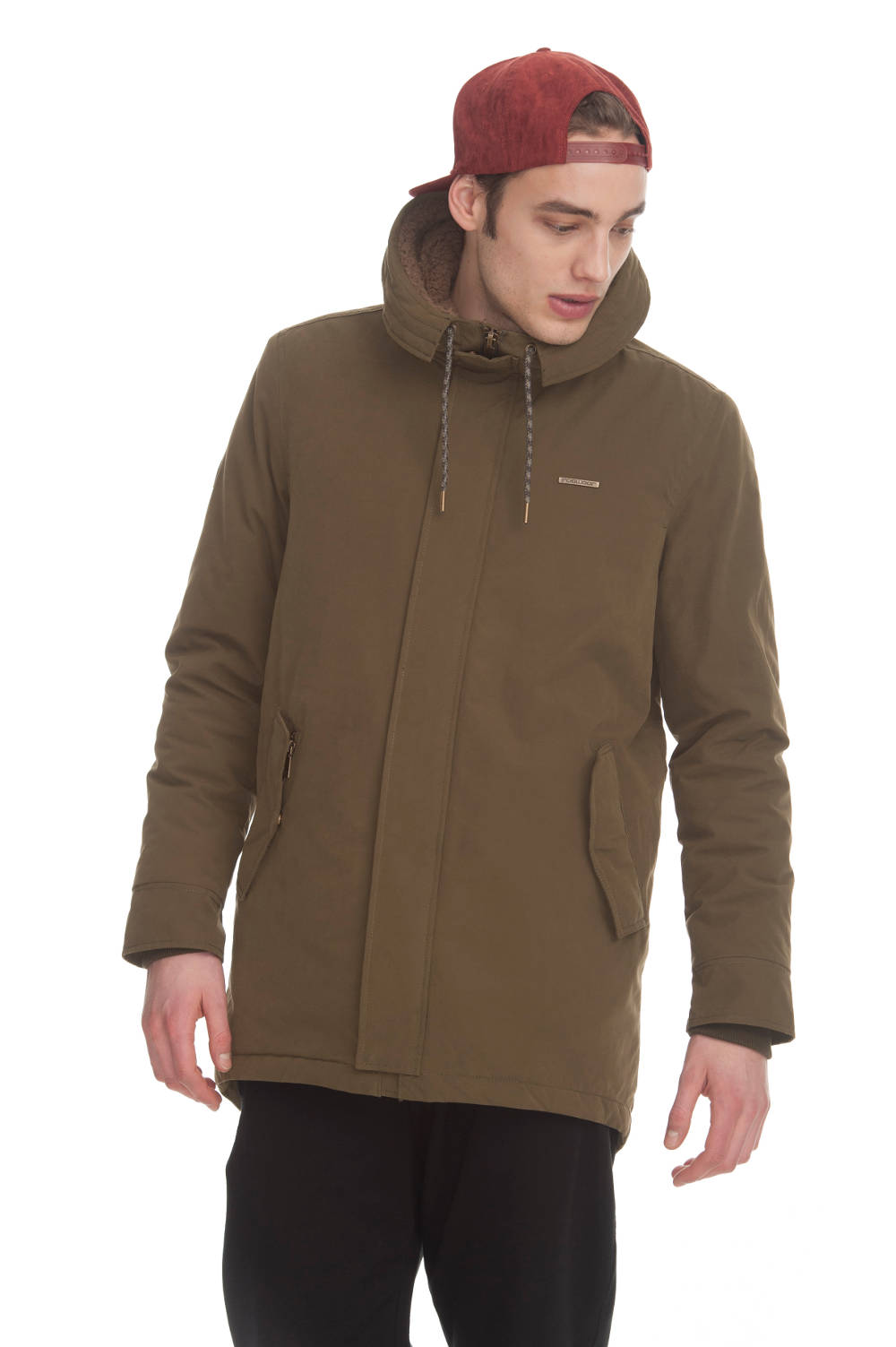 Ragwear Mr. Smith veganer Parka olive
