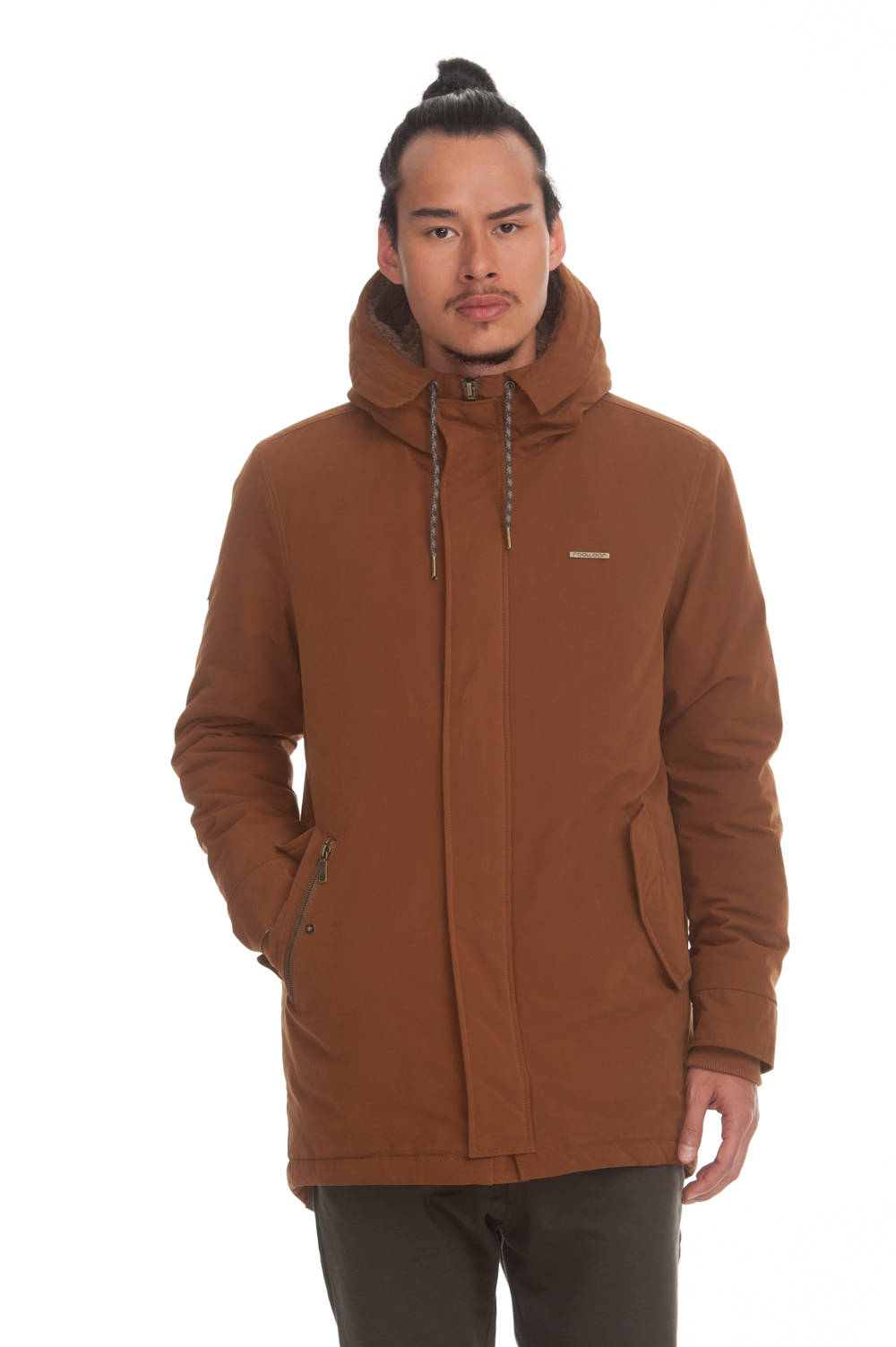 Ragwear Mr. Smith veganer Parka tobacco