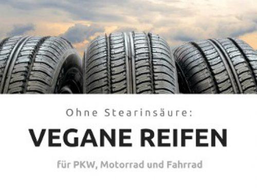 Vegane Reifen für Auto, Motorrad und Fahrrad