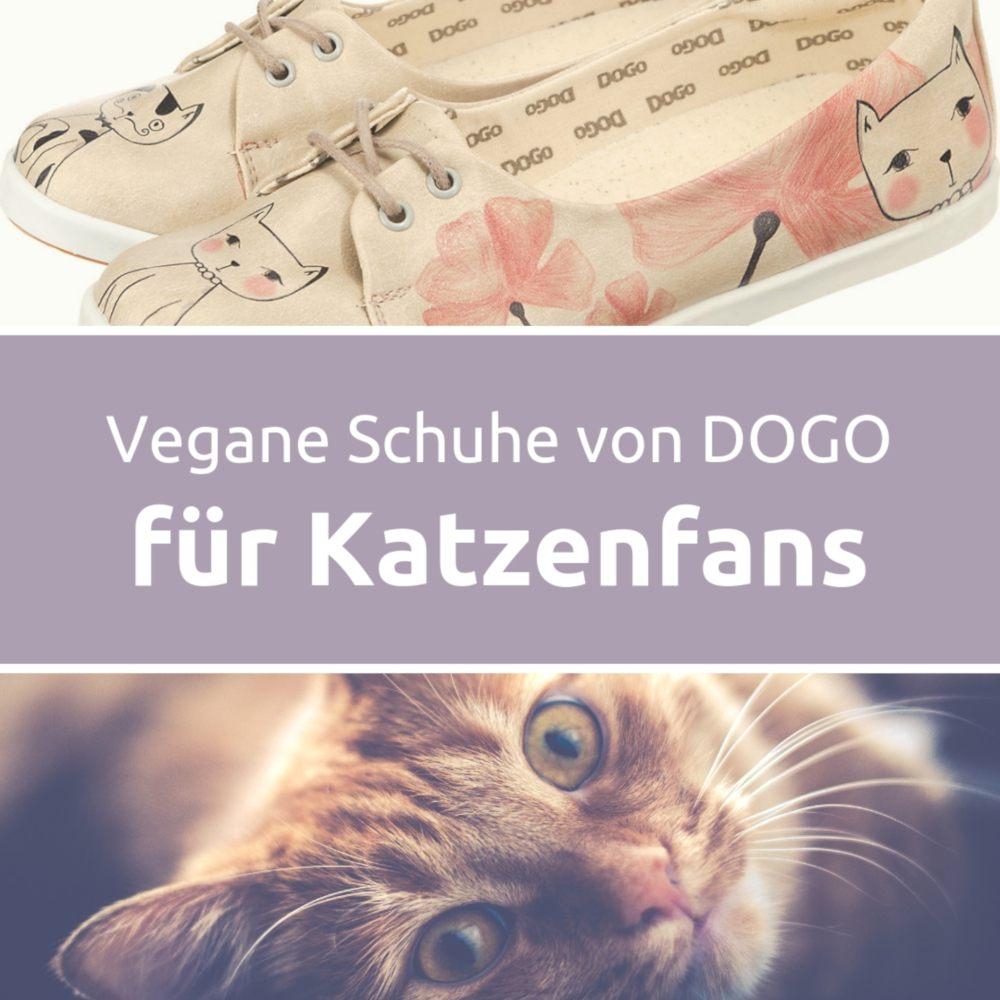 Vegane Schuhe von DOGO für Katzenfans