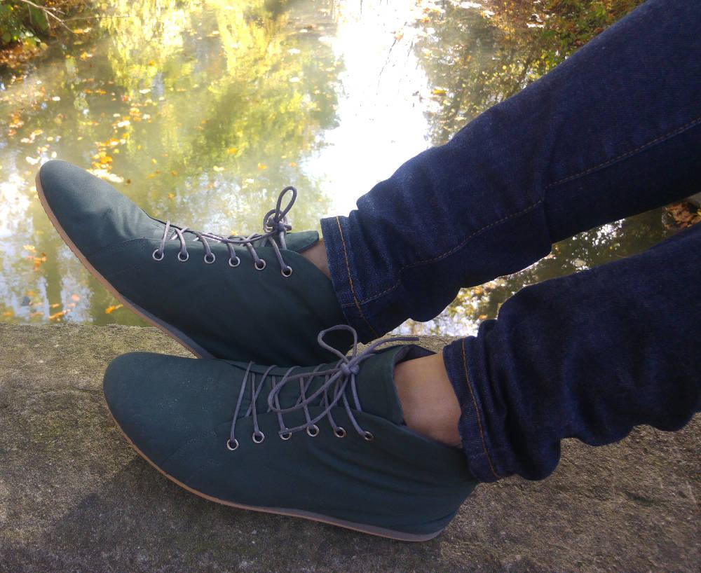 SORBAS: Vegane Schuhe aus innovativen, nachhaltigen Materialien