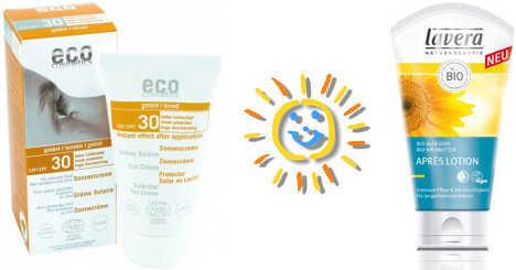 Sonnenpflege und Sonnencreme vegan