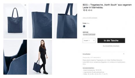 Kauftipp: Vegane Tasche bei Urban Outfitters reduziert auf 10 Euro