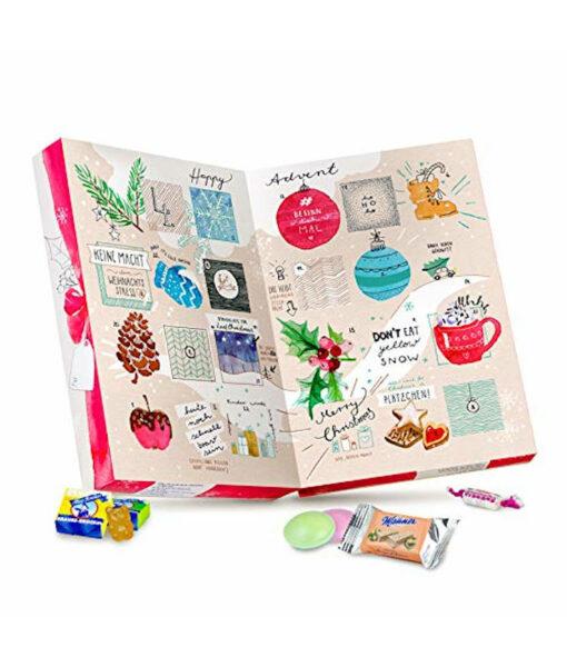 Der Zuckerbäcker veganer Adventskalender mit 24 Süßigkeiten