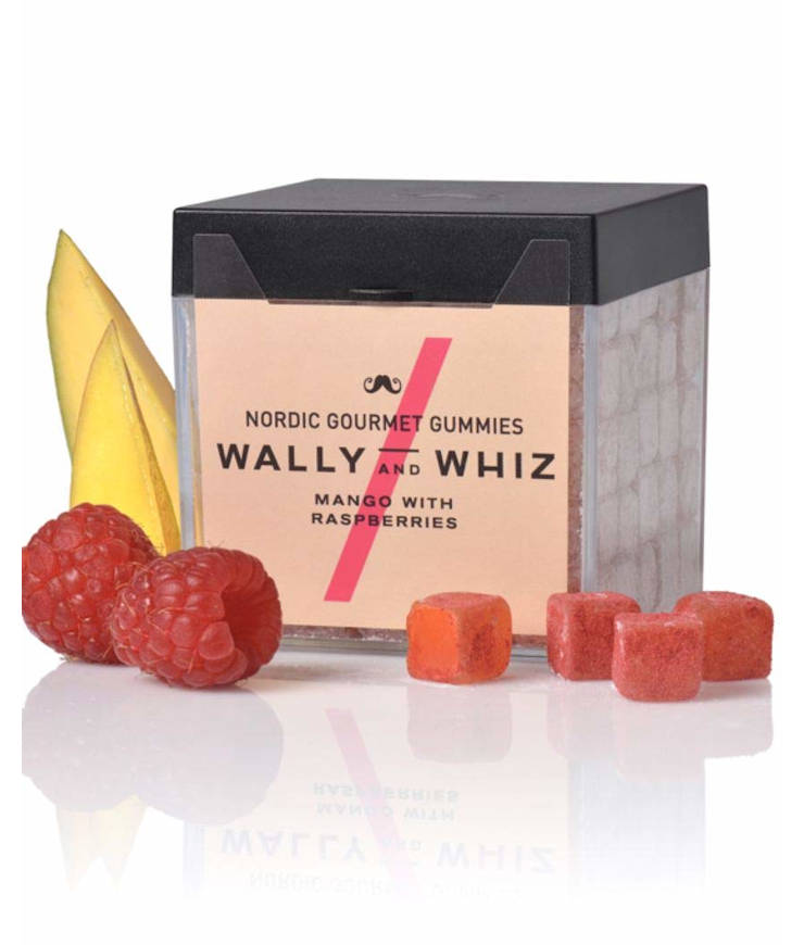 Wally and Whiz vegane Weingummis Mango Raspberries