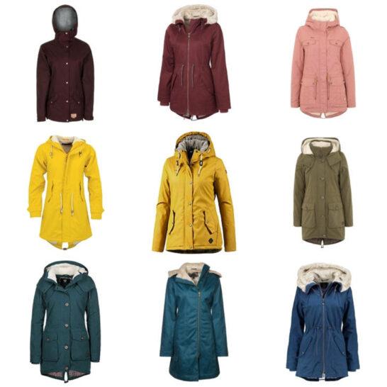 Warme Jacken bunt wie Herbstlaub vegan